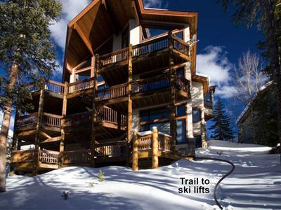 5000 SF LUXURY HOME ADJACENT TRAIL TO TWO SKI LIFTS, HIKING, TOWN!