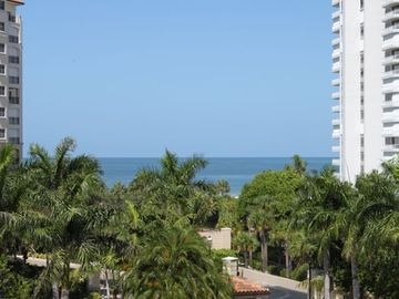 San Marco Residences condo rental - View of Gulf of Mexico from Lanai/Balcony