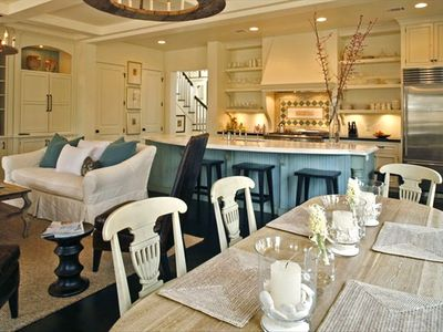 LIVING ~ DINING ~ KITCHEN  All Together ~  Perfect for Dinner Parties!!
