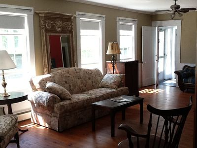 Cedardown, Wellfleet, Gathering Room, Living Room 27 x 12