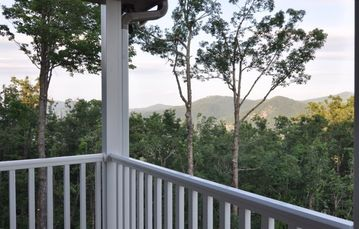 Long Range Views From Large Covered Porches now offering 180 degree views