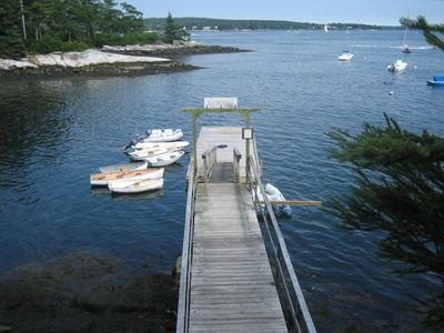 Dock used by guest of The Loft