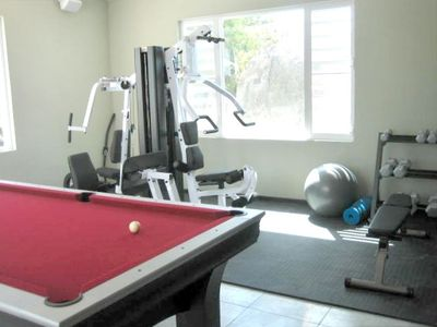 Game and fitness room