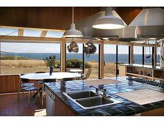 Sea Ranch house photo - View from the kitchen sink counter.