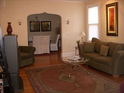 Omaha house rental - Living/Dinning areas