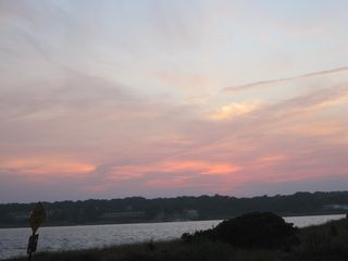 Hampton Bays house photo - Beautiful sunsets over the nearby bay