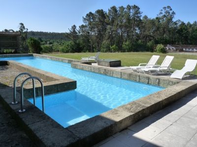 House with 2 bedrooms in São Pedro do Sul, with wonderful mountain view, pool access, furnished garden