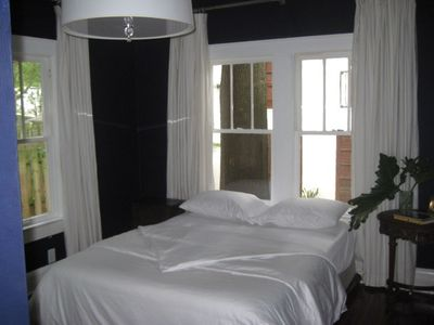 Orlando bungalow rental - BEDROOM 2 - LUXURY EGYPTIAN COTTON 1000 THREAD COUNT SHEETS & DUVET COVER
