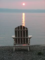 Ithaca cottage photo - Sunset...