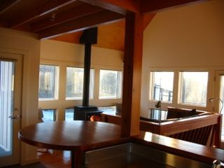 New Glarus house photo - Kitchen and living room
