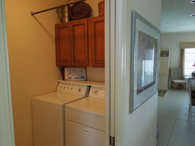Convenient Laundry Room with Pocket Door