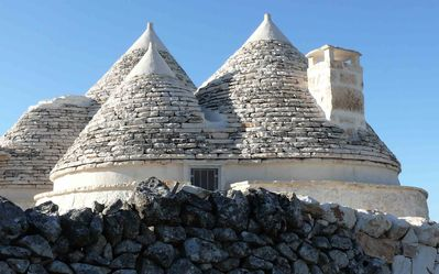 The original cones of the trullo