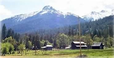 Southwestern corner of the ranch with Billy's Peak in the background