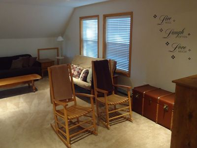 West Wardsboro house rental - Upper SItting Room