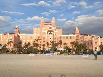 WE ARE A 7 MINUTE WALK DOWN THE BEACH FROM THE WORLD FAMOUS DON CESAR RESORT