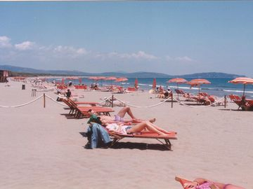 Beach FENIGLIA near ORBETELLO