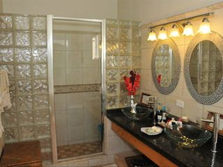 Master Suite Bath Room - Marigot Bay villa vacation rental photo