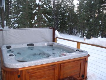 You will love a soak in this tub!
