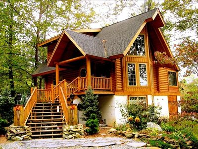 39 following the river 39 exec log cabin on rivers edge pets for Air canada pet in cabin