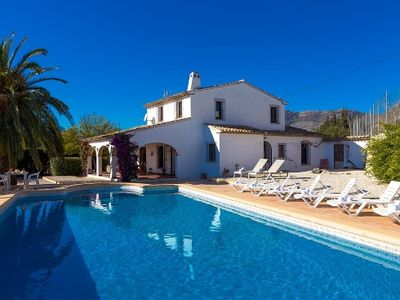 Villa Colina in Benissa for 10 people ,beautiful location with panoramic view