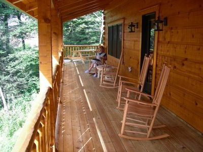Front porch - upper deck