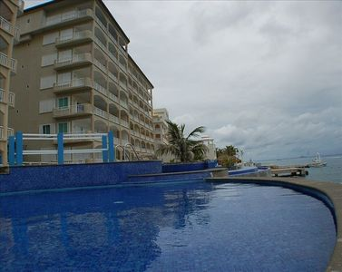 Cozumel condo rental - Another view from the ocean side