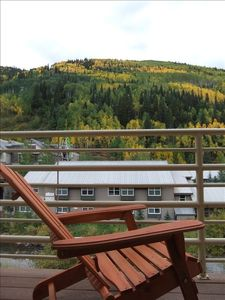 Autumn Balcony View
