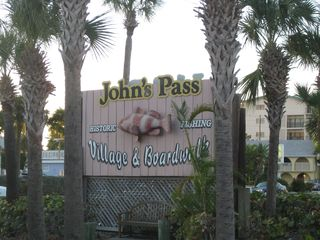 Madeira Beach condo photo - Be sure to visit John's Pass.