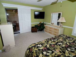 Sanibel Island condo photo - 42 inch HD TV with DVD in Master with sliders out to porch