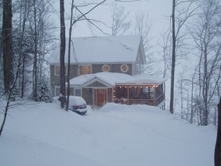 Chittenden house photo - A cozy place to get snowed in!