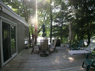 New Milford house photo - Deck Overlooking Lake