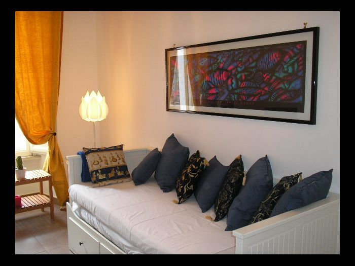 Holiday apartment, 73 square meters , Nomentano, Italy