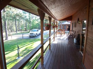 Deadwood cabin photo - Covered Porch