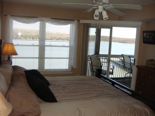 Osage Beach condo photo - Watch the sun rise from the comfort of your bed....