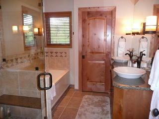 Deer Valley townhome photo - Newly renovated Master Bath