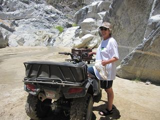 Los Barriles house photo - A Fun ATV Ride Up an Arroyo to a Water Fall