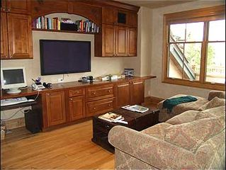 Snowmass Village house photo - Private Den with Plasma TV, computer, internet access