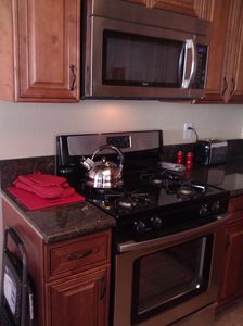 Brand new stainless steel appliances throughout!
