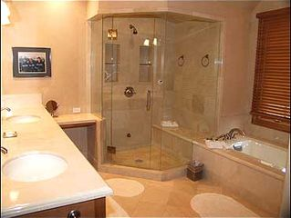 Snowmass Village house photo - Master Bath with Jacuzzi Tub, Steam Shower