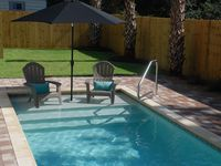 Private Pool With Gulf/canal Views.  ONLY 175 steps to Sandy Beach!! FREE WIFI!!