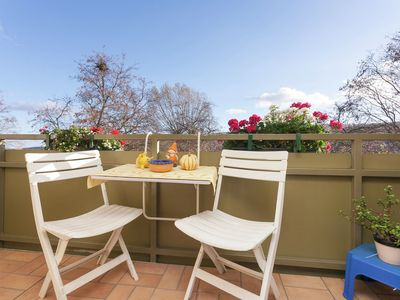Lovingly furnished holiday apartment with a balcony on the edge of the Harz Mountains