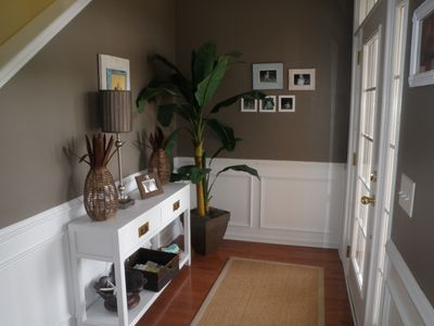 Tropical Inviting Entry Hall to start your vacation!