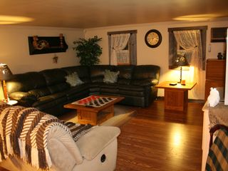 Clearfield cabin photo - Great room