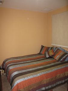 Puerto Aventuras condo rental - 3rd bedroom with a full size bed