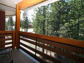 Mammoth Lakes condo photo - Unit is very quiet. The balcony overlooks trees and wooded area.