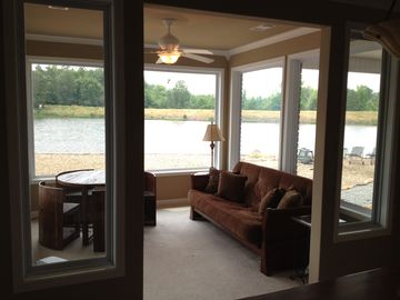 3 Sides LAKE! Can Sleep in Here for BEST Lake Views or use BlackOut Shades