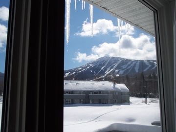 View from Living Room of Mountain and Chairlift