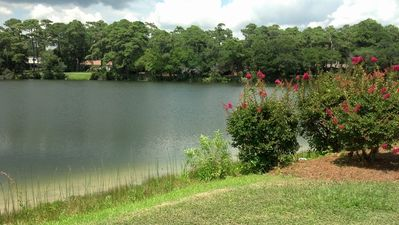 TAKE A WALK AROUND THIS BEAUTIFUL LAKE-ONE BLOCK AWAY