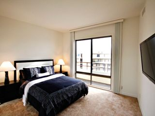 Marina del Rey townhome photo - Additional bedroom with large flat screen and ocean views