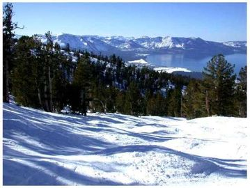 View from Heavenly Ski Resort of the Tahoe Keys